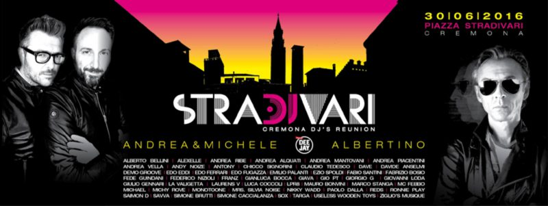 StraDJvari Open Air Disco in Cremona